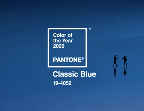 Pantone 2020 Color of the Year:  Classic Blue!